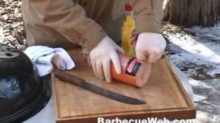 Hickory Smoked BBQ Pit Boys Bologna Barbecue