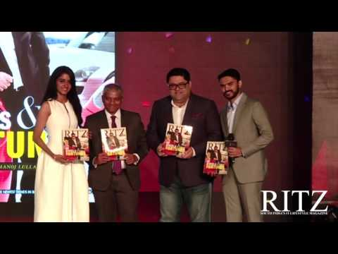 Cover unveiling of RITZ Magazine March Issue 2017 featuring The Supercar Enthusiast Manoj Lulla