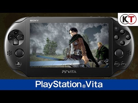 Gameplay PS Vita de A.O.T. 2