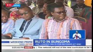 Deputy President William Ruto tells politicians to stop politicking and focus on development