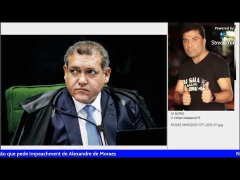 Nunes Marques vai relatar ação que pede impeachment de Alexandre de Mo