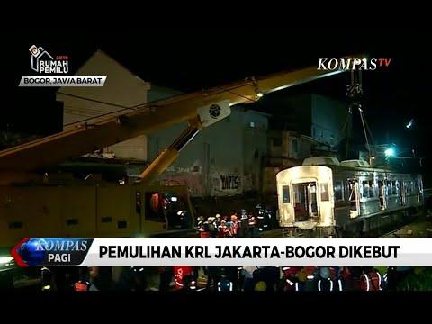 Pemindahan Gerbong KRL Jakarta-Bogor Anjlok Terus Dikebut