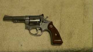 Smith & Wesson model 63 Kit Gun .22LR