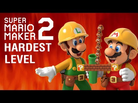 The Hardest Mario Level of All Time | videogamedunkey