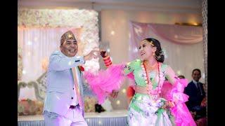 FATHER - DAUGHTER DANCE (SURPRISE)  - Nepali Wedding Dance #kristinandshishir
