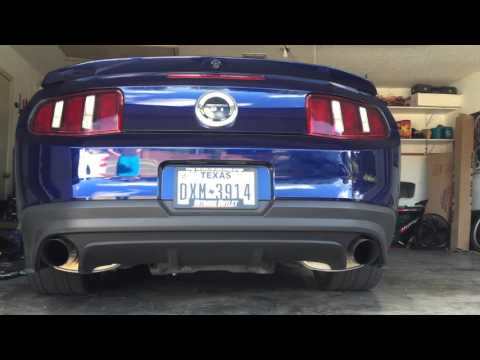 2014 Mustang GT Coyote Borla Atak Off Road X-Pipe Lund