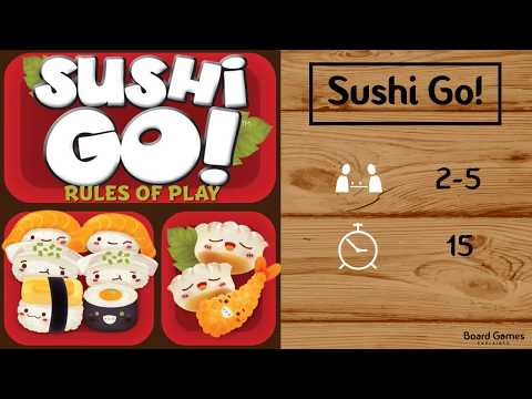 Sushi Go! Explained in 1 Minute