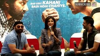 Dishkiyaoon Movie Press Conference  Part 1