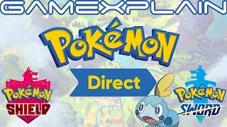 Pokémon Sword & Shield Direct Announced for June 5th! + Pokémon Conference TOMORROW