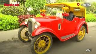 Vintage Car Rally Organised In Kolkata