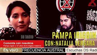 🔴 FRECUENCIA AUSTRAL ❌Hoy conversamos con Natalia Vergara sobre la matanza de Pampa Irigoin