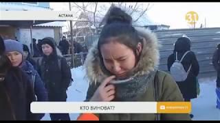В Астане школьница погибла, провалившись в открытый колодец