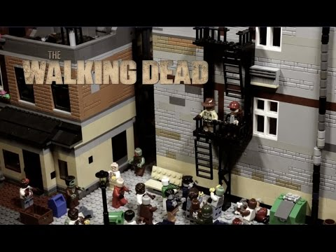 WALKING DEAD, step by step as in a TV SHOW, LEGO STOP MOTION