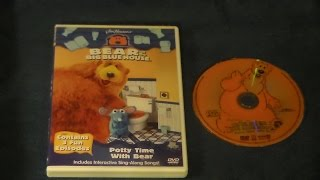 Opening to Bear in the Big Blue House: Potty Time With Bear 2001 DVD