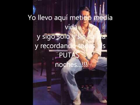 Ricardo Arjona - Bar con letra