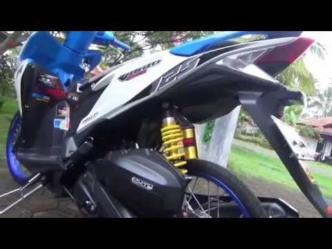 Video Honda Vario modifikasi techno 125 Pgm-Fi