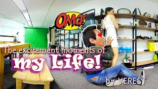 [3D 360 VR] The excitement moments of my life! (1st. Office) Ep.2