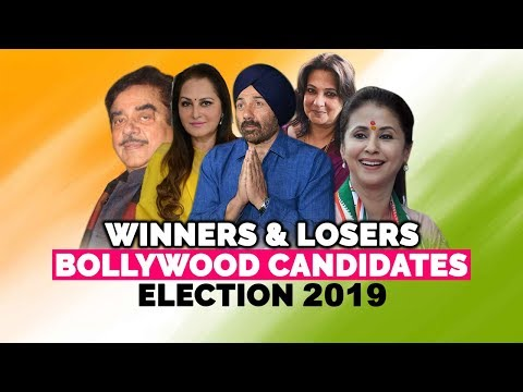 Winners and Losers Among Bollywood Candidates of Election 2019 | ElectionsResults2019