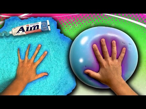 How to make giant toothpaste slime without glue super easy slime how to make a giant toothpaste slime stress ball diy slime how to wubble ccuart Image collections