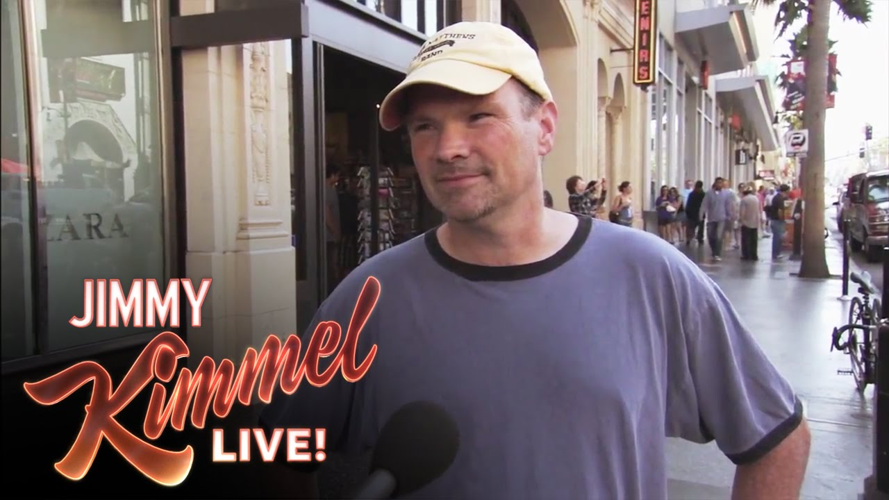 Jimmy Kimmel Confirms People Love The iPhone 5, Even When It's An iPhone 4S