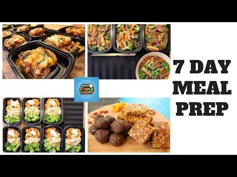 Video FULL 7 DAY MEAL PREP