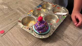 Model Magic Cupcakes!