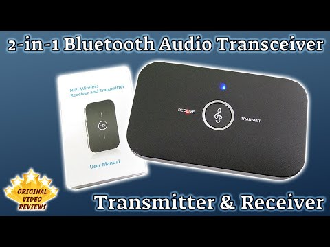 Item review – 2-In-1 Bluetooth Audio Receiver And Transmitter
