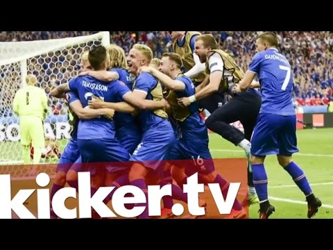 Island TV Kommentator flippt völlig aus - kicker.tv EM2016