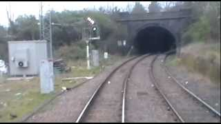 preview picture of video 'Cabview Hastings DEMU 1001 Blackhorse Road-Belsize Tunnel 31.03.12'