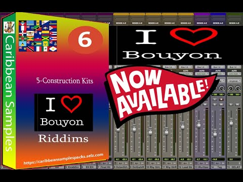 Bouyon Riddims Sample Pack / 5-Construction Kits / Royalty Free