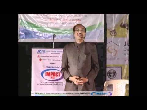 How To Get Success BV Pattabhiram TELUGU IMPACT Hyd 2012
