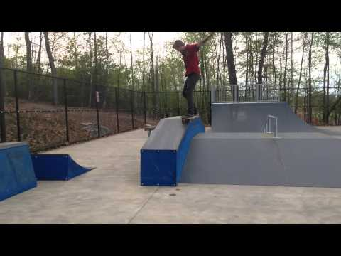 Mansfield's NEW Skatepark