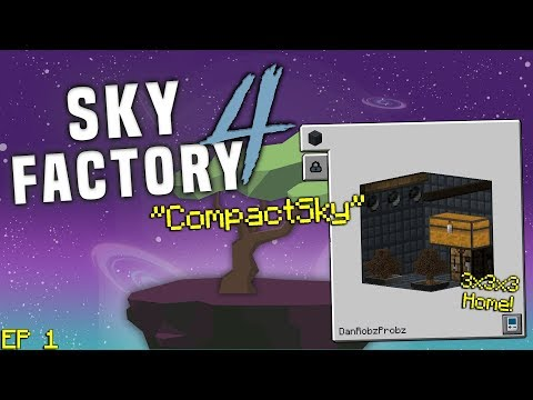 SkyFactory 4 - Are You Afraid of the Dark   STAMP TUBE