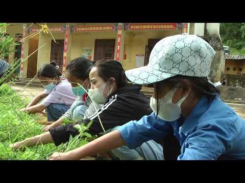 Trường THCS số 1 Si Ma Cai chuẩn bị năm học mới