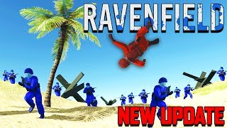 Ravenfield New Update DEFEND THE BEACHES!  (Ravenfield Beta 7 Gameplay Part 1)