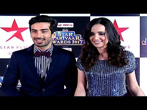 Star Parivaar Awards 2017 | Sanaya Irani & Mohit Sehgal INTERVIEW | Red Carpet | SPA 2017