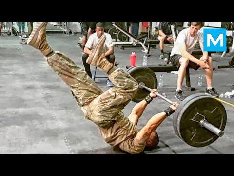 DIAMOND OTT - Next Level Army Workouts | Muscle Madness