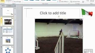 Powerpoint 2010 Tutorial - How to Add Video