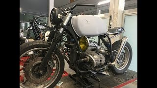How to build a Cafe Racer (Start to Finish) - BMW R100 R by