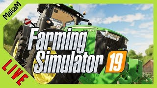 Farming Simulator 19 LIVE [HUN] #14 - Kukorica és fű silózás!