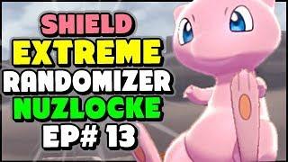 Mew HIDING In the Ruins!  - Pokemon Sword and Shield Extreme Randomizer Nuzlocke Episode 13