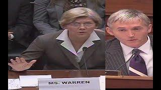 Trey Gowdy Laughs While Interrogating Elizabeth Warren!