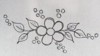 New Easy Hand Work Designs Tutorials, Beautiful Hand Embroidery Design For Dress/Kurti/saree Etc