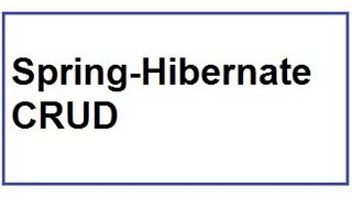 Add,Edit,Delete,Search Using Spring And Hibernate