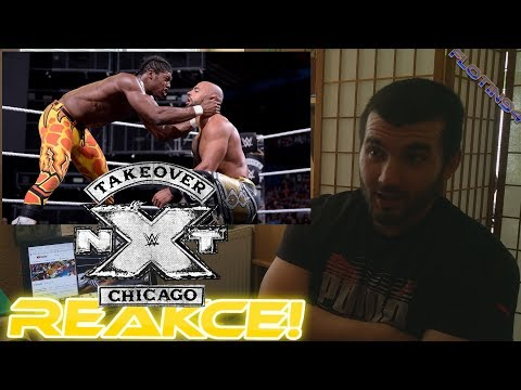 WWE NXT TakeOver Chicago II 2018 - Ricochet vs Velveteen Dream REACTION/REAKCE
