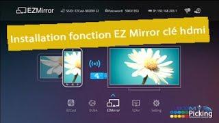 tuto installation fonction EZ mirror tronsmart t100, ezcast