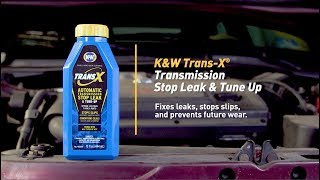 How To Fix an Automatic Transmission Leak with K&W® TRANS-X® Automatic Transmission Stop Leak