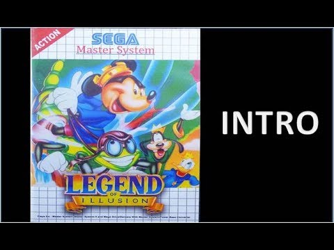 Legend of Illusion Starring Mickey Mouse - Intro - Master System