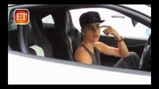Justin Bieber street fighting !