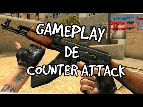 GAMEPLAY COUNTER ATTACK CS PARA CELULAR PARTE 1